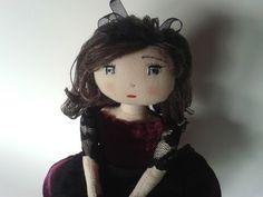 Patron et tuto poupée de chiffon : Couture facile - YouTube