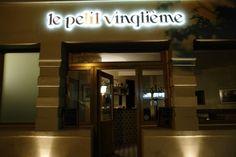 Le Petit Vingtième 381 rue des Pyrénées métro:jourdain (11) tel:0143493450 Paris Bars, Dinner In Paris, Restaurant Paris, Le Chef, Broadway Shows, Rue, In Season Produce, Kitchens