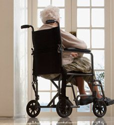 Image result for old lady in wheelchair