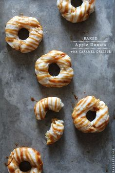 Baked Apple Doughnuts