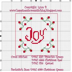 Happiness is Cross Stitching : Christmas box exchange finally arrived at destination and a free pattern for you.