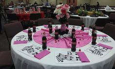 """1950's"" table created by Teresa Maynard"