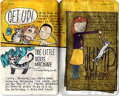 Art Journal 101 - Part 1: Topics and Layouts - AnnaDenise.nl