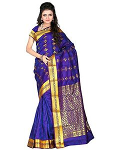 Roopkala Silks & Sarees Silk Saree(VS-714_Royal Blue) - http://weddingcollections.co.in/product/roopkala-silks-sarees-silk-sareevs-714_royal-blue/