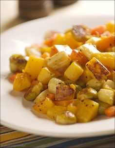 The Stock Pot: Sensational Sides - Parmesan-Roasted Winter Vegetables | Picture-Perfect MealsPicture-Perfect Meals