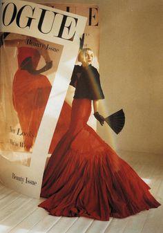 """Timeless"". Hannelore Knuts by Tim Walker, Vogue Italia December 2005"