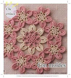 Delicadezas en crochet Gabriela: Servilleta decorativa