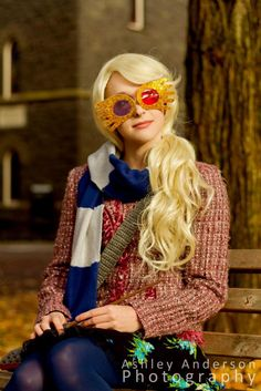 "Luna Lovegood Halloween Costume YES PLEASE. I DON'T CARE THAT I AM FIFTEEN AND ""NO ONE DRESSES UP FOR HALLOWEEN ANYMORE"""
