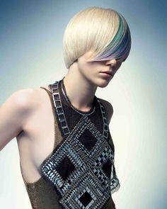 Hairdressers Journal - British Hairdressing Newcomer of the Year Award Winner 2010 - Seung Ki Baek