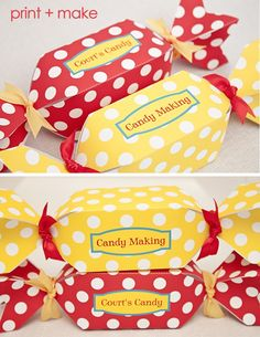 Free printable Candy Boxes!
