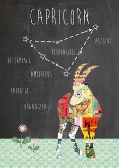 Capricorne ♑ par Claudia Schoen