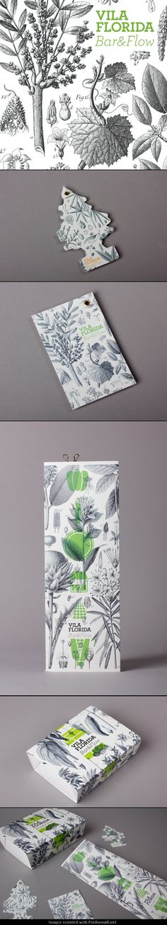 beautiful botanicals #packaging curated by Packaging Diva PD - created via http://www.losiento.net/entry/vila-florida