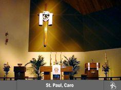 St. Paul Lutheran Church in Caro, Michigan #LCMS