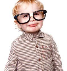 boy in funny glasses