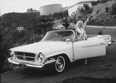 vintage everyday: Marilyn Monroe and Cars