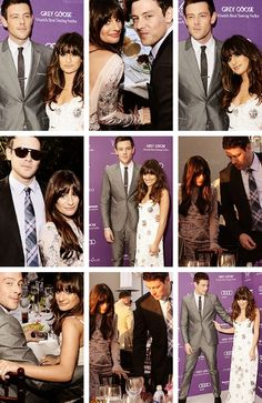 """It's bit of a date night, yeah!"" - Cory Monteith (2012) ""Date night!"" - Lea Michele (2013)"