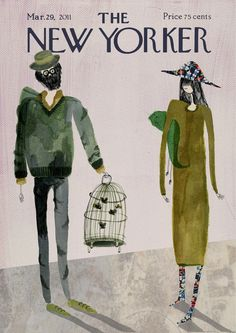 New Yorker Magazine Covers by Kirsten Sims