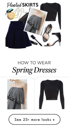 """Pleated"" by genuine-people on Polyvore featuring Clare V. and 3.1 Phillip Lim"
