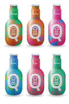 Just happened onto more Q BIO packaging. I want : ) PD sambuca drinks Juice Branding, Juice Packaging, Cool Packaging, Beverage Packaging, Bottle Packaging, Brand Packaging, Label Design, Logo Design, Package Design
