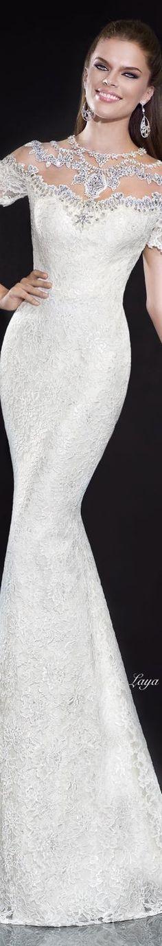Tarik Ediz - Spring 2015 Couture #Modest doesn't mean frumpy. #DressingWithDignity www.ColleenHammond.com www.TotalimageInstitute.com