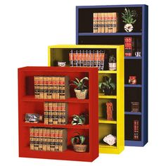 Sandusky Lee Heavy Duty Commercial Metal Bookcase - Bookcases at Hayneedle