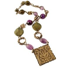 Baroque Beads Necklace by Wendy Mullane