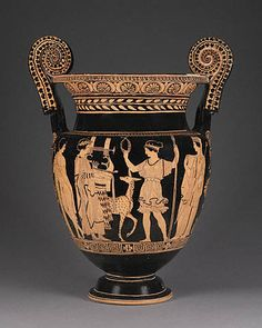 Mixing Vessel of Apollo and Artemis (The J. Paul Getty Museum, Villa Collection, Malibu, California)