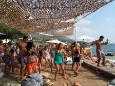 Latin Party at Paleros Yacht Club, Lefkada, Greece.  Party til you drop!!!