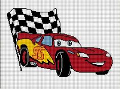 Crochet Pattern graphs charts for single crochet tunisian afghans can be cross stitch or knitting with free instruction packet RACING CARS DOLLS Kids Knitting Patterns, Baby Sweater Knitting Pattern, Afghan Crochet Patterns, Cross Stitch Pattern Maker, Cross Stitch Patterns, Diy Throw Blankets, Lightening Mcqueen, Easy Crochet Blanket, Cross Stitch Designs