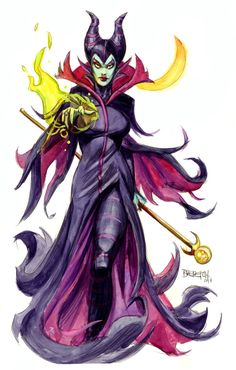 Maleficent by Dan Brereton [©2014]