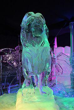 ice sculpture-Lion King
