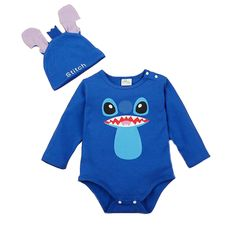Disney Jumpsuit Collection Baby Stitch Costume