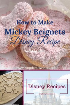 How to make homemade Mickey Mouse Beignets - Disneyland Resort http://kingdomplanners.com/kp-disney-blog/recipe/mickey-mouse-beignets-disneyland-resort/?utm_campaign=coschedule&utm_source=pinterest&utm_medium=Kingdom%20Planners&utm_content=How%20to%20make%20homemade%20Mickey%20Mouse%20Beignets%20-%20Disneyland%20Resort
