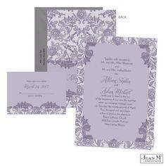 Romantic Lace Wedding Invitation   Custom   Vintage Wedding Invitation at Michaels™ Custom Invites