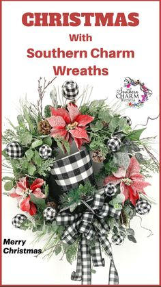 Christmas Food Gifts, Christmas Love, Winter Christmas, All Things Christmas, Merry Christmas, Christmas Decorations, Deco Mesh Wreaths, Holiday Wreaths, Holiday Crafts