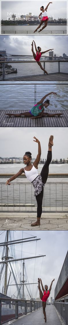 Michaela DePrince Read her book: Taking Flight  It is an amazing story of her life.  She is an incredible dancer and person in general.  She has been through so much, but still manages to put a smile on her face and dance through it!