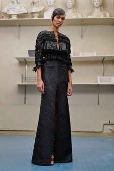 Catwalk photos and all the looks from Givenchy Autumn/Winter 2016-17 Couture Paris Fashion Week