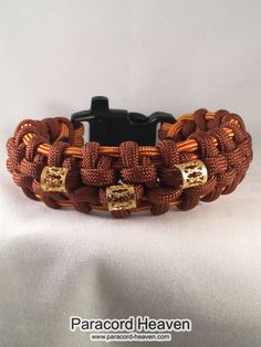 Now available on our store: Golden Goblets - ... Check it out here! http://www.paracord-heaven.com/products/golden-goblets-the-hanging-bridge-paracord-survival-bracelet-with-emergency-whistle