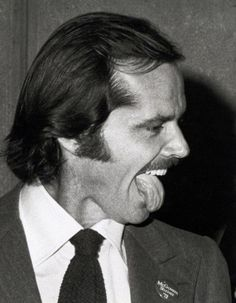 Jack Nicholson by Ron Gallela, 1970s.
