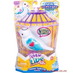 Little Live Pets Bird Single, Lolly Polly, Assorted Candy Images, Talking Toys, Little Live Pets, Live Tweet, Pets Online, Monster High Birthday, Happy Song, Robots For Kids, Bird Toys