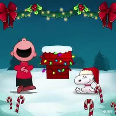 Merry Christmas - New Ideas Merry Christmas Animation, Merry Christmas Pictures, Christmas Scenery, Merry Christmas Images, Merry Christmas Happy Holidays, Peanuts Christmas, Christmas Music, Christmas Wishes, Christmas Greetings