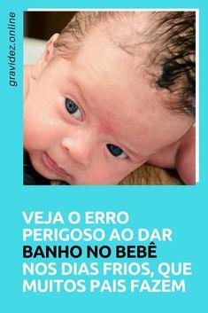 Banho bebê   Veja o erro perigoso ao dar banho no bebê nos dias frios, que muitos pais fazem