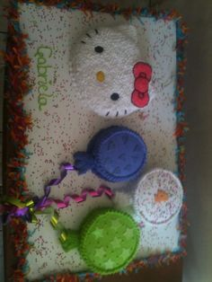 Hello Kitty cake by Dulce Galeria