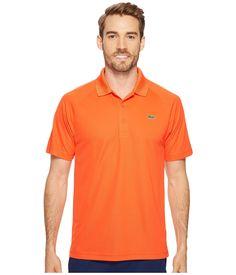 LACOSTE Sport Short Sleeve Ultra Dry Raglan Sleeve Polo. #lacoste #cloth #