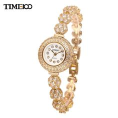 New Ladies Luxury Short Gold Alloy Strap Waterproof Bracelet Watches Women Diamond Quartz Dress Watch Diamond Quartz, Dame, Bracelet Watch, Jewelery, Rose Gold, Luxury, Bracelets, Silver, Stuff To Buy