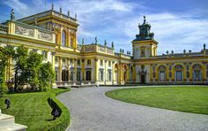 Entrance to Wilanow Palace - Warsaw Photograph by Jon Berghoff - Entrance to Wilanow Palace - Warsaw Fine Art Prints and Posters for Sale
