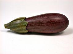 LV-1627 Purpleheart & Verawood Eggplant Trinket Box, Toothpick holder, Needle Case-SCREW CAP