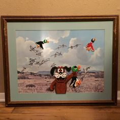 Made a couple of these Duck Hunt pictures to sell at a convention this summer.