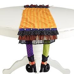 I don't actually own a table runner but this Witch Legs one from #Pier1 is so festive. I love it. $24.95