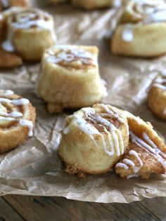 """These gluten free cinnamon roll sugar cookies somehow manage to be soft and tender, and even light and flaky. Just like a """"real"""" cinnamon roll—but in a neat little cookie. And no rising time. They're cookies, after all!"""